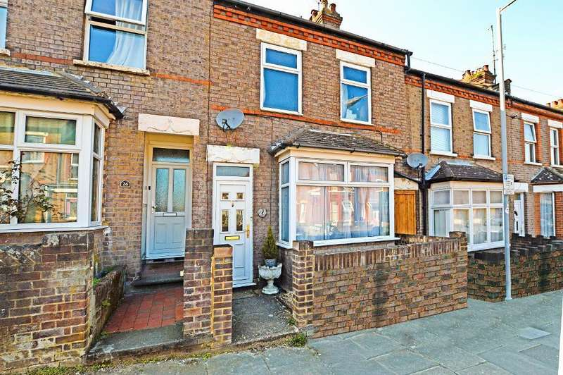 2 Bedrooms Terraced House for sale in Chiltern Rise, South Luton, Luton, LU1 5HF