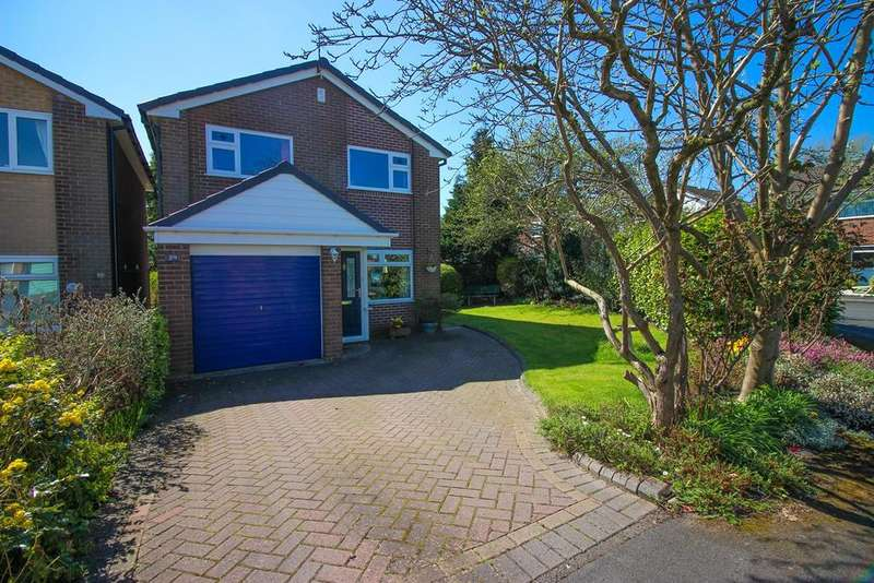 3 Bedrooms Detached House for sale in Fulmar Drive, Offerton, Stockport, SK2