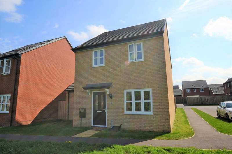 3 Bedrooms Detached House for sale in Hunter Road, Whetstone, Leicester LE8