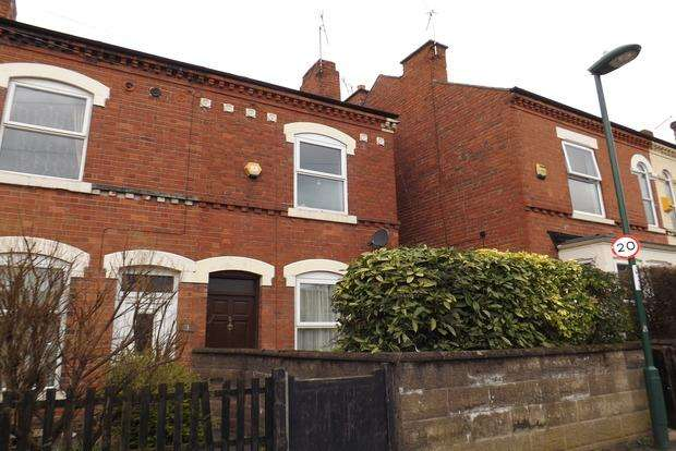 3 Bedrooms End Of Terrace House for sale in Wilton Street, Basford, Nottingham, NG6