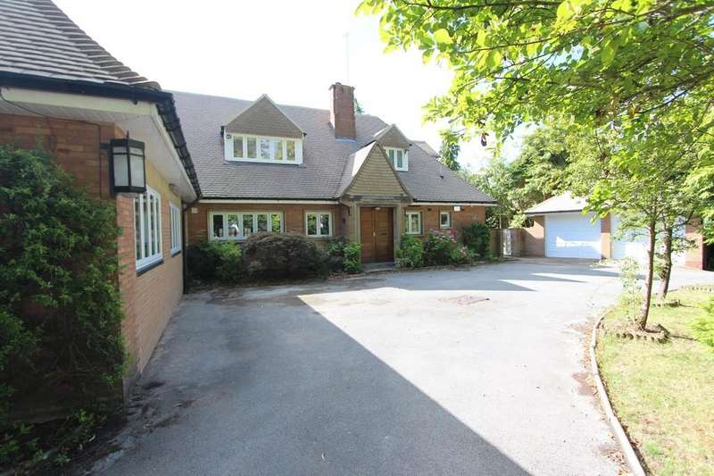 5 Bedrooms Detached Bungalow for sale in Avenue Road, Dorridge