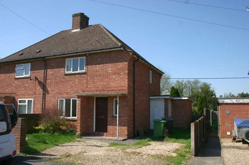 2 Bedrooms Semi Detached House for sale in Priory Avenue, Hungerford