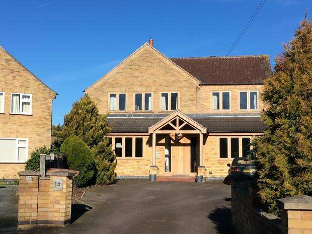 4 Bedrooms Detached House for sale in Gartree Drive, Melton Mowbray, LE13