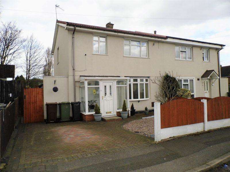 3 Bedrooms Semi Detached House for sale in Severn Road, Bloxwich, Walsall