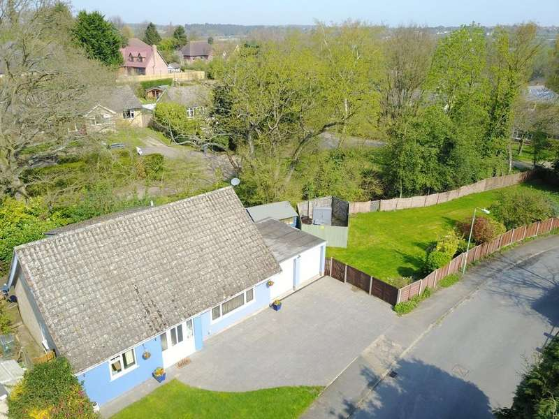 4 Bedrooms Detached Bungalow for sale in Viking Heights, Martlesham, IP12 4RT