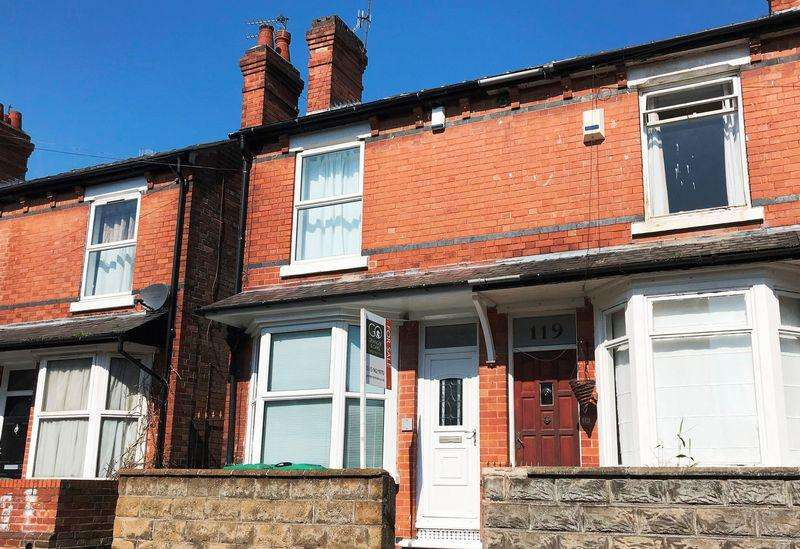 3 Bedrooms Terraced House for sale in Vernon Avenue, Basford, Nottingham