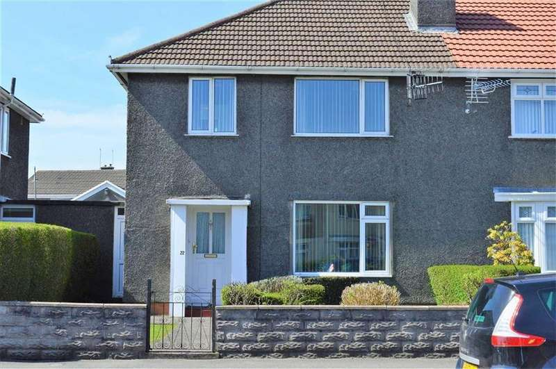 3 Bedrooms Semi Detached House for sale in Upper Gendros Crescent, Swansea, SA5