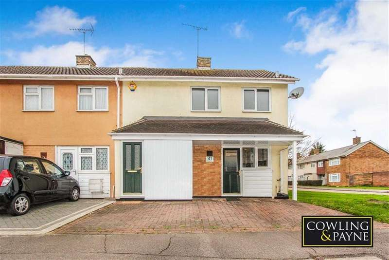 2 Bedrooms End Of Terrace House for sale in Beeleigh East, Basildon, Essex
