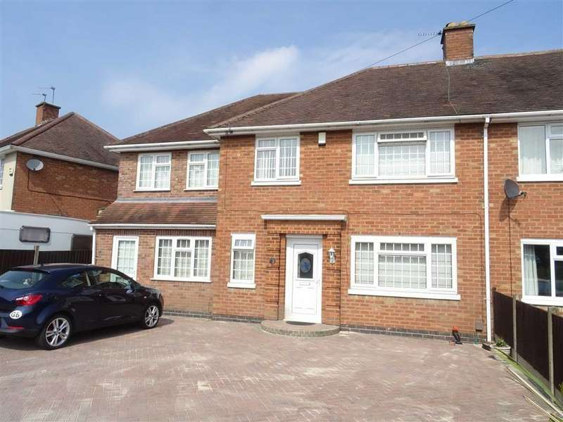 5 Bedrooms Semi Detached House for sale in Lucas Road, Burbage
