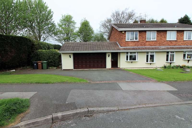 4 Bedrooms Semi Detached House for sale in Delamere Road, Willenhall