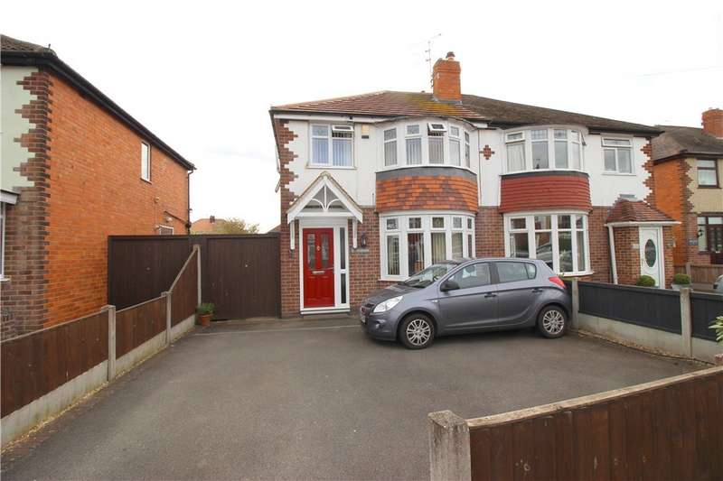 3 Bedrooms Semi Detached House for sale in Dalkeith Avenue, Alvaston, Derby, Derbyshire, DE24