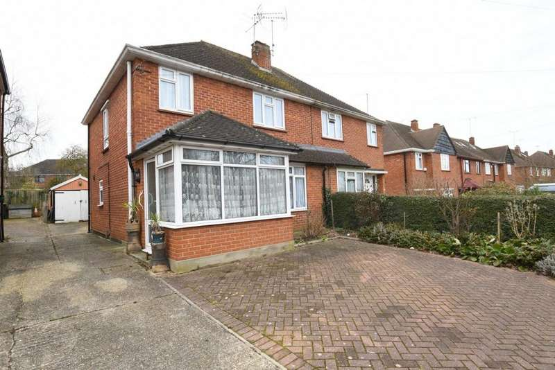3 Bedrooms Semi Detached House for sale in Crows Road, Epping, CM16