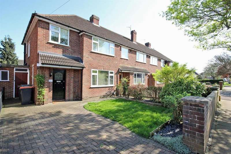 3 Bedrooms End Of Terrace House for sale in Aylesbury Road, Bedford