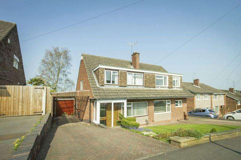 3 Bedrooms Semi Detached House for sale in Portreath Drive, Allestree