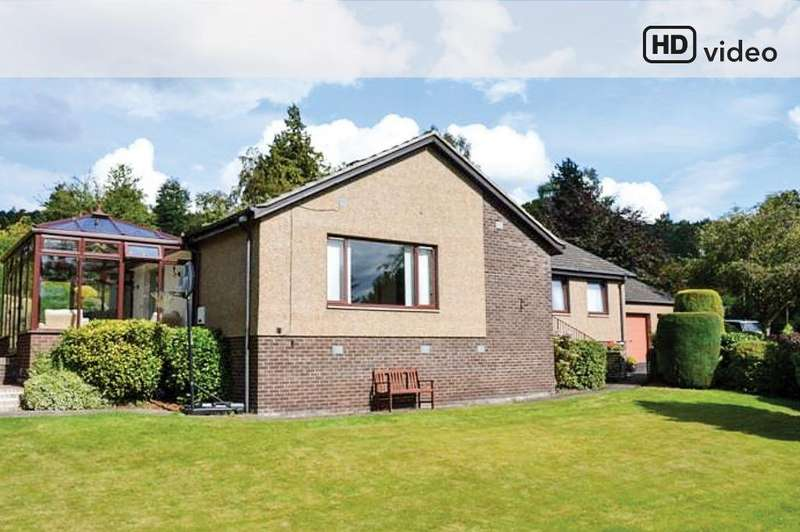 4 Bedrooms Detached Bungalow for sale in Island View, Perth, Perthshire, PH2 7HS