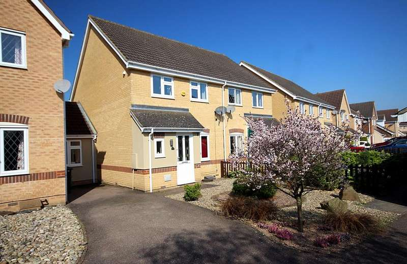 3 Bedrooms Semi Detached House for sale in Howberry Green, Arlesey, SG15