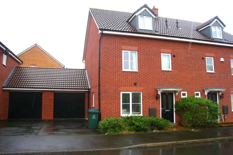 4 Bedrooms Semi Detached House for sale in Shropshire Drive, Coventry, CV3