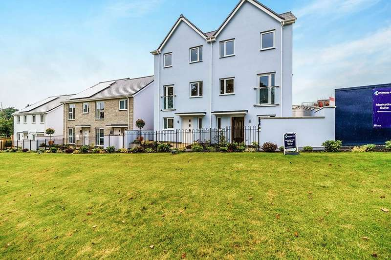 4 Bedrooms Semi Detached House for sale in The Matei Southern Gate Wordsworth Crescent, Plymouth, PL2