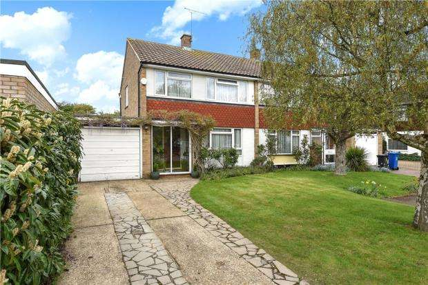 3 Bedrooms Semi Detached House for sale in Withey Close, Windsor, Berkshire