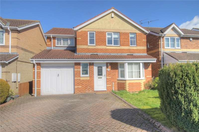 4 Bedrooms Detached House for sale in St. Oswalds Court, Newton Aycliffe, County Durham, DL5