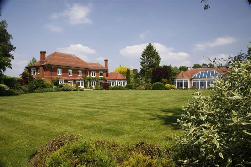 5 Bedrooms Detached House for sale in Adlams Lane, Sway, Lymington, Hampshire, SO41