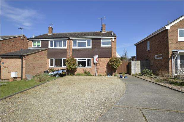 3 Bedrooms Semi Detached House for sale in Read Way, Bishops Cleeve, GL52