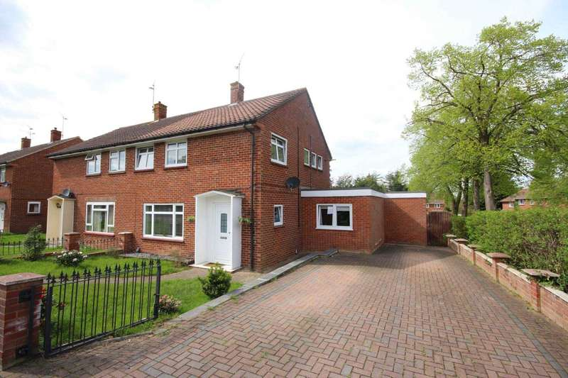 4 Bedrooms Semi Detached House for sale in Moordale Avenue, Priestwood