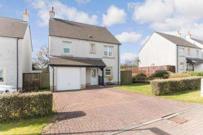4 Bedrooms Detached House for sale in The Grange, Perceton, Irvine, North Ayrshire