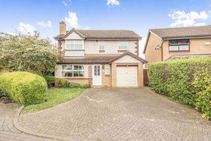 4 Bedrooms Detached House for sale in Dynevor Close, Bromham, Bedford, Bedfordshire