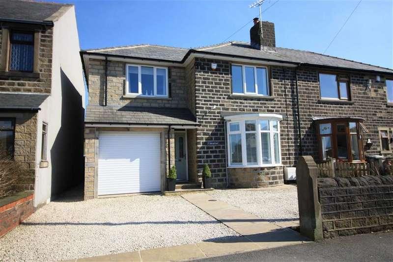 4 Bedrooms Semi Detached House for sale in Broad Oak, Linthwaite, Huddersfield