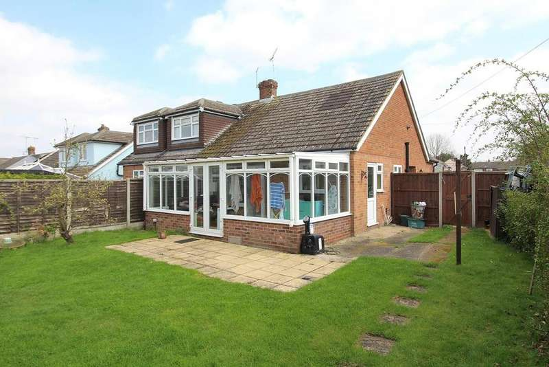 2 Bedrooms Semi Detached Bungalow for sale in Arbour Lane, Chelmsford, Essex, CM1