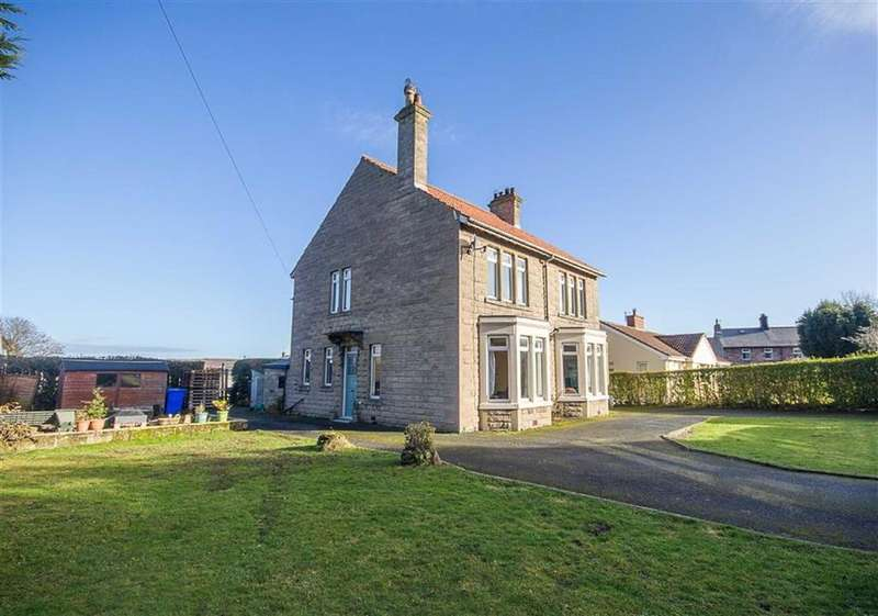 3 Bedrooms Detached House for sale in Brewery Road, Wooler, Northumberland, NE71