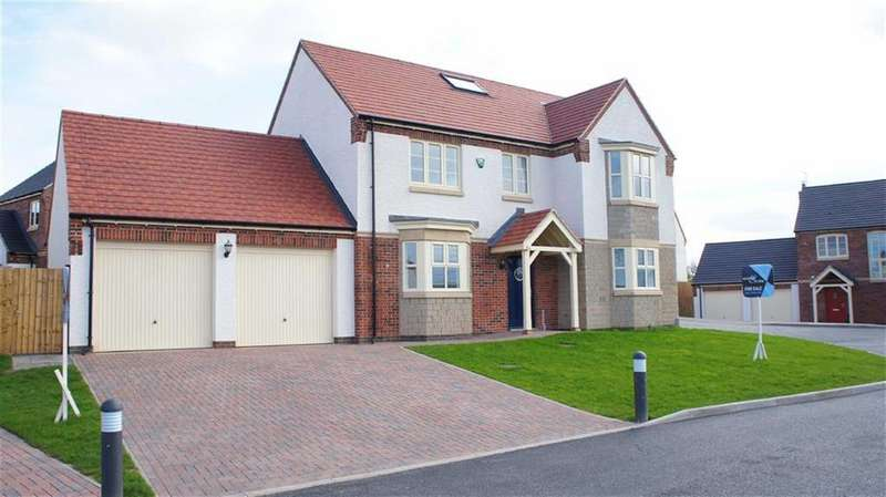 4 Bedrooms Detached House for sale in Spencer Close (Plot 4), Glenfield