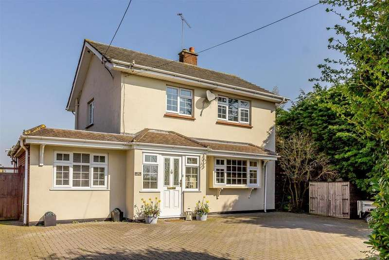 3 Bedrooms Semi Detached House for sale in Ongar Road, Writtle, Chelmsford