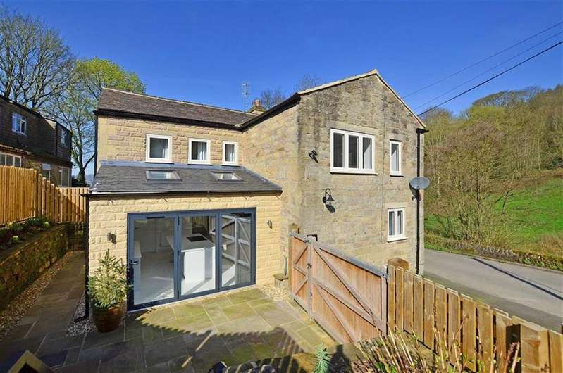 3 Bedrooms Semi Detached House for sale in 2 Doone Cottage, Ladygrove Road, Two Dales, Matlock, Derbyshire, DE4