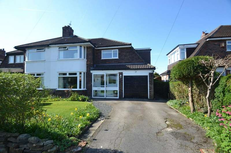 4 Bedrooms Semi Detached House for sale in Meadway Close, Sale
