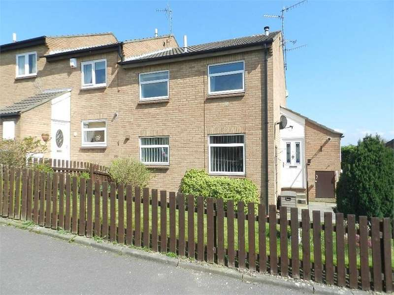 1 Bedroom End Of Terrace House for sale in Melbeck Court, Chapeltown, SHEFFIELD, South Yorkshire