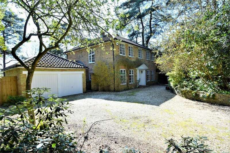 4 Bedrooms Detached House for sale in Crawley Drive, CAMBERLEY, Surrey