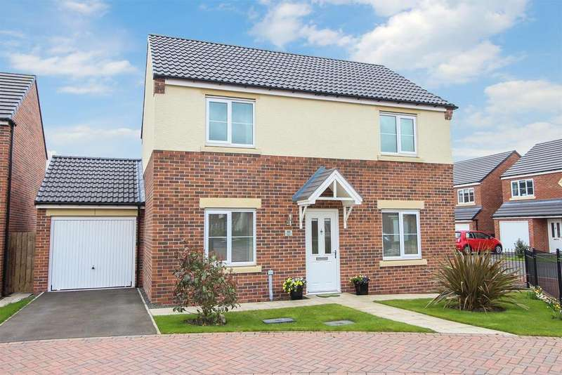 3 Bedrooms Detached House for sale in Dunnock Place, Wideopen, Newcastle Upon Tyne