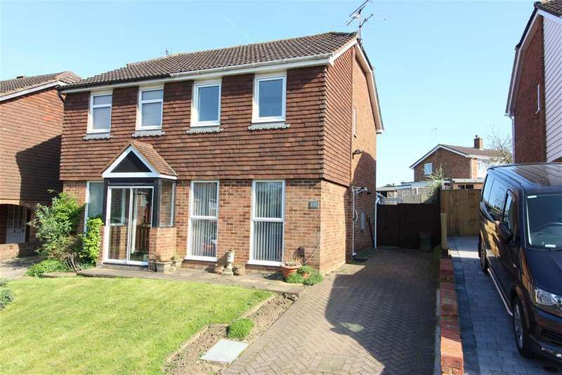 2 Bedrooms Semi Detached House for sale in Quantock Drive, Ashford, TN24 8QP