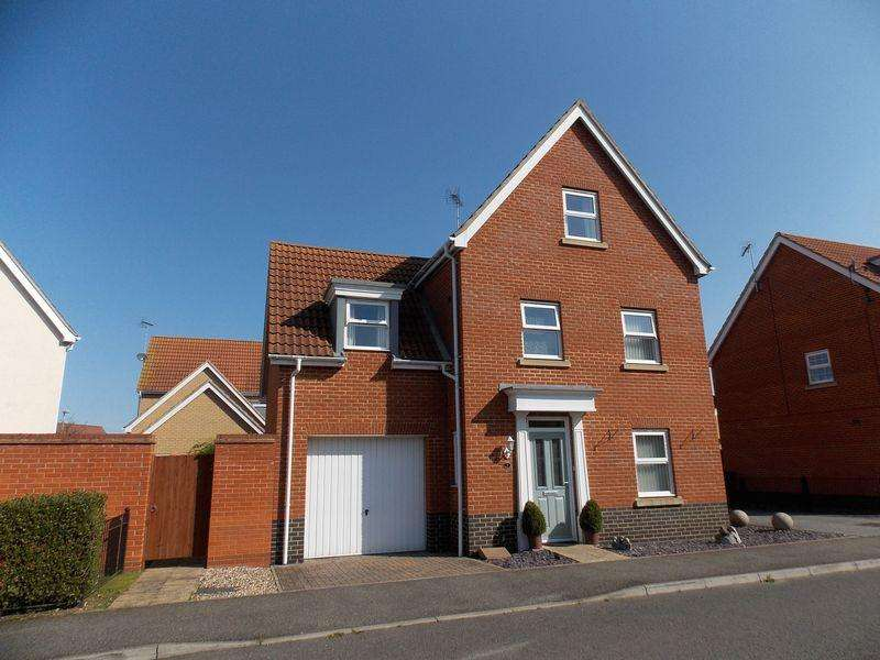 4 Bedrooms Detached House for sale in Selway Drive, Bury St Edmunds