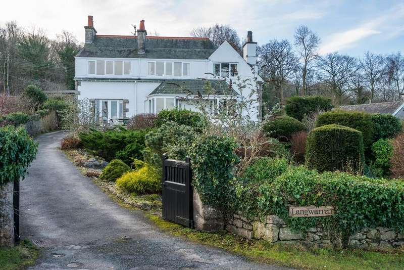 4 Bedrooms Detached House for sale in Langwarren, High Knott Road, Arnside, Cumbria, LA5 0AW