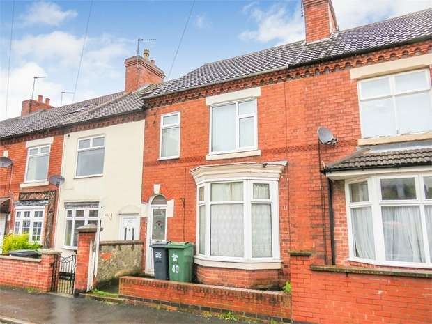 3 Bedrooms Terraced House for sale in Springfield Road, Shepshed, Loughborough, Leicestershire