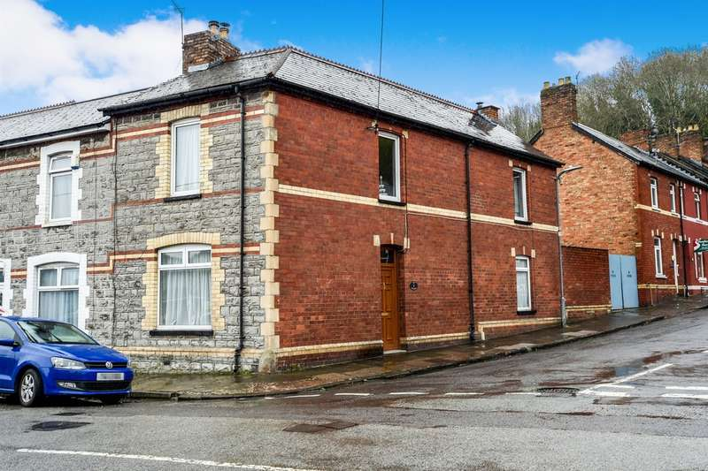 2 Bedrooms End Of Terrace House for sale in Agnes Street, Penarth