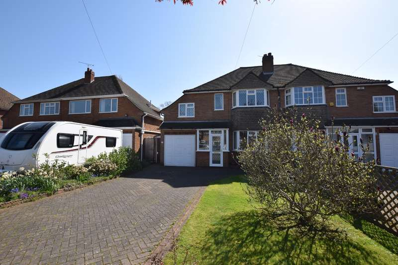 3 Bedrooms Semi Detached House for sale in Ufton Close, Shirley, Solihull, B90 3SB
