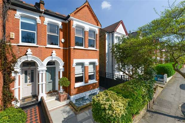 6 Bedrooms Semi Detached House for sale in Clive Road, Dulwich