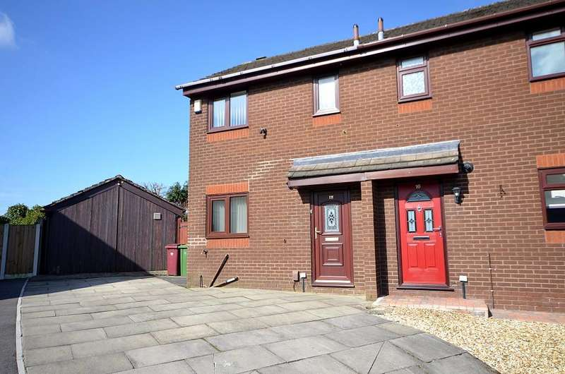2 Bedrooms Semi Detached House for rent in Park Meadow, Westhoughton BL5