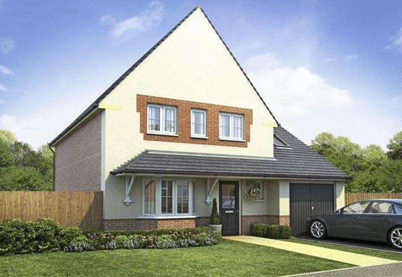 4 Bedrooms Detached House for sale in Harborough at Malbank Waters, Queens Drive, Nantwich