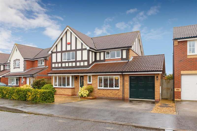 4 Bedrooms Detached House for sale in Elbourn Way, Bassingbourn, Royston