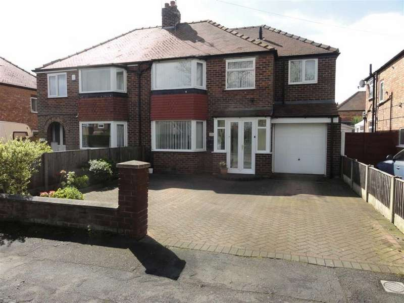 4 Bedrooms Semi Detached House for sale in Bolshaw Road, Heald Green